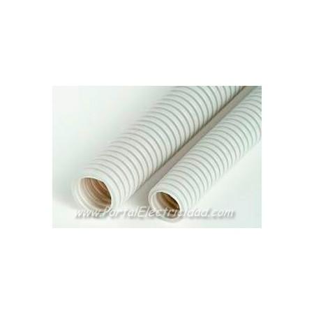 Tubo corrugado libre de hal genos blanco al mejor precio - Precio tubo corrugado ...