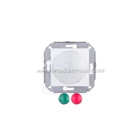 BALIZA LUMINOSA F37 230V BLANCO - VERDE - ROJO ACABADO BLANCO