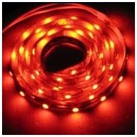 TIRA LED FLEXIBLE ROJA 4,8 W/M, IP65