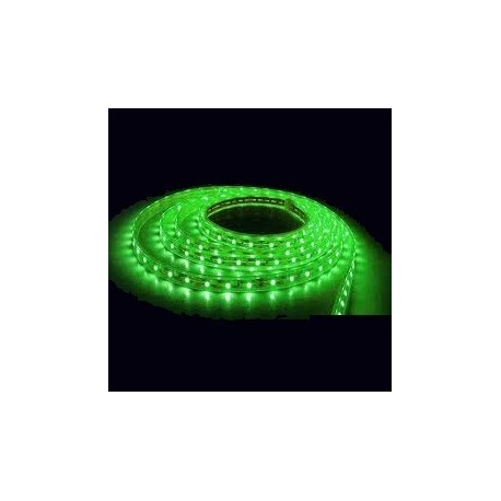 TIRA LED FLEXIBLE VERDE 4,8 W/M, IP65