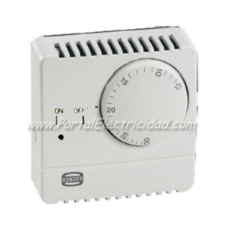 Termostato sonder de ambiente con interruptor - Termostato de ambiente ...