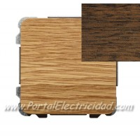 INTERRUPTOR SENCILLO, MADERA WENGUE