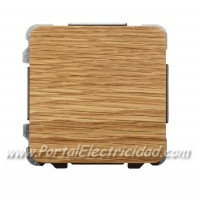 CONMUTADOR SIMPLE, MADERA ROBLE