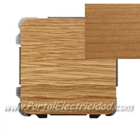 CONMUTADOR SIMPLE, MADERA CEREZO