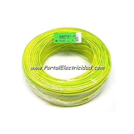 CABLE 4mm2 LIBRE HALOGENOS H07Z1-K (100 mts) 750V