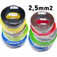 CABLE 2,5mm2 FLEXIBLE (200 mts)