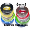 CABLE 6mm2 LIBRE HALOGENOS H07Z1-K 750V