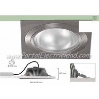 DOWNLIGHT LED 25W CUADRADO BLANCO