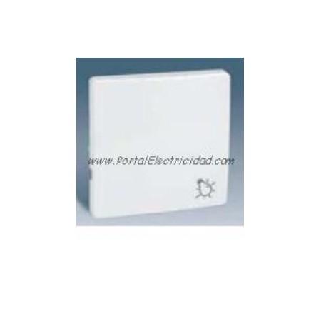 Tecla pulsador con simbolo luz series simon 82 blanco - Simon 82 blanco ...
