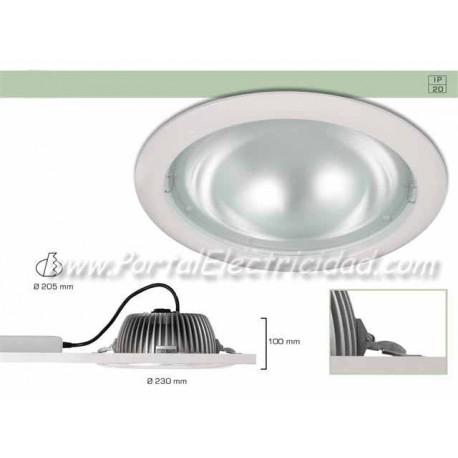 DOWNLIGHT LED 25W CIRCULAR BLANCO