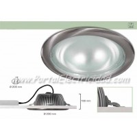 DOWNLIGHT LED 25W CIRCULAR NÍQUEL