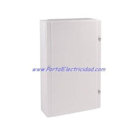 CUADRO ELECTRICO METALICO PARA 120 POLOS. PUERTA OPACA