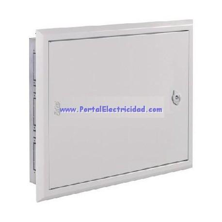 CUADRO ELECTRICO METALICO DE EMPOTRAR 48 POLOS, PUERTA OPACA