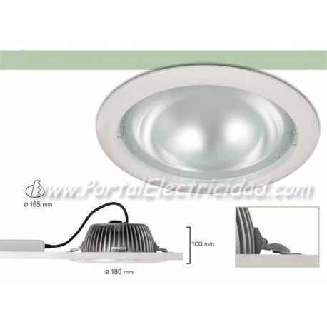 DOWNLIGHT LED 15W  CIRCULAR BLANCO