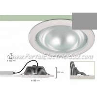 DOWNLIGHT LED 15W CIRCULAR NÍQUEL