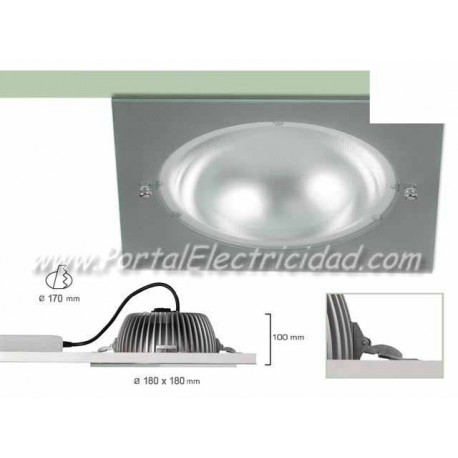 DOWNLIGHT LED 15W CUADRADO BLANCO