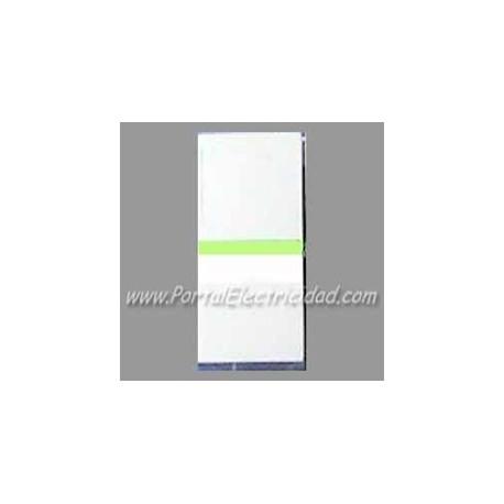 Conmutador Estrecho Luminoso Niessen Zenit Blanco