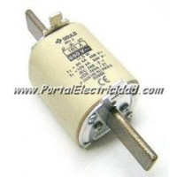 CARTUCHO FUSIBLE DE TALLA NH-2 400 AMP.