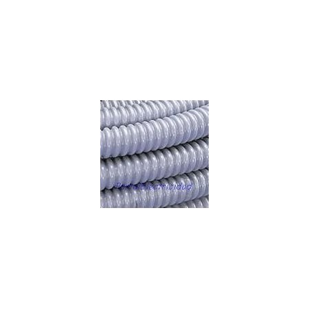 Tubo corrugado flexible reforzado con pvc r gido for Tubo de pvc flexible