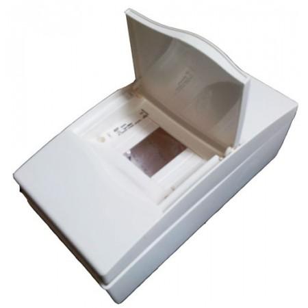 Caja de autom ticos de superficie para 4 polos cuadros for Caja cuadro electrico
