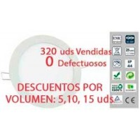 DOWNLIGHT LED 20W TIPO PLATO