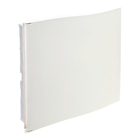 Caja de autom ticos para icp 54 m dulos con puerta for Caja cuadro electrico