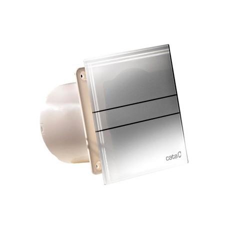Extractor de ba o silencioso cristal blanco cata - Extractor bano silencioso ...