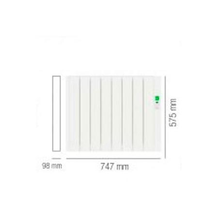 Radiadores el ctricos rointe sygma - Radiadores electricos bajo consumo ...