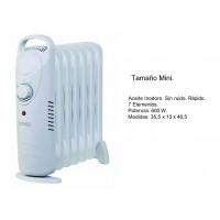 Radiador de Aceite Tamaño Mini 600W
