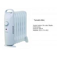 Radiador de Aceite Tamaño Mini 900W