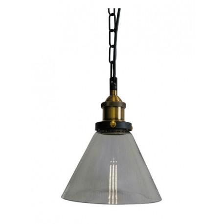 Lámpara Vintage E-27 Tulipa Transparente