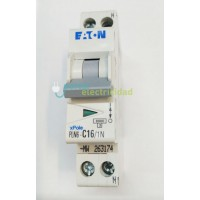 Automatico  P.I.A.  1P+N 16A  en 1 Modulo Eaton o Moeller