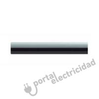 Manecilla Rotativa Metal Níquel Negro de Empotrar Blanco Fontini DO