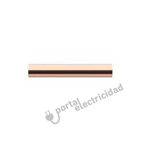 Manecilla Rotativa Metal Cobre Brillo de Empotrar Blanco Fontini DO
