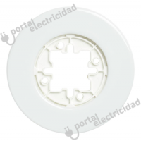 Marco de Empotrar Porcelana Blanca Fontini DO