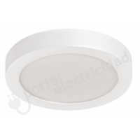 Panel LED Superficie 20W - Blanco Redondo - Luz Neutra