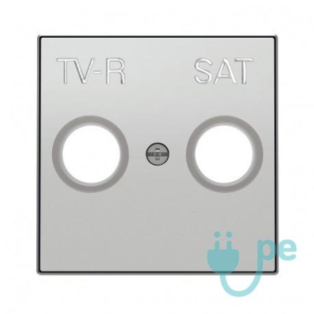 Tapa Tv-R Niessen Sky Plata