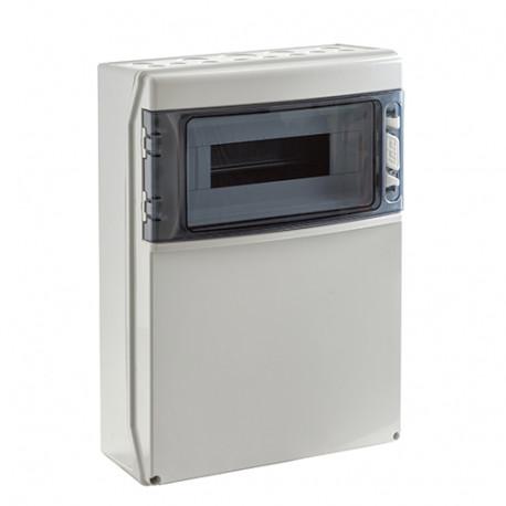 Caja Automaticos Estanca 12 Polos + Zona Bases Cetac de corriente IDE