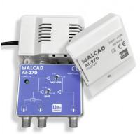 Amplificador Señal Interior 2 Salidas AI-270 Alcad