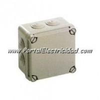 Caja de Empalmes Estanca 108x108x64 CON CONOS